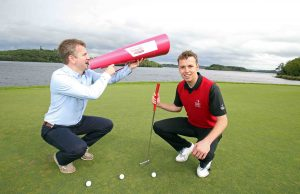 Glen Mowat of the Lough Erne Resort and Glenn Monahan of Tourism NI are encouraging Irish visitors to Say Hello to More in Northern Ireland by enjoying a golf and spa break this autumn. NI is home to some of the most successful major-winning golfers in the world including stars like Darren Clarke, Rory McIlroy and Graeme McDowell, who all honed their considerable skills on courses in Northern Ireland so it should come as no surprise then to learn that Northern Ireland boasts over ninety golf courses, six of which are Links Courses.  For more details on new Say Hello To More campaign launched by Tourism NI or to book one of the special accommodation packages on offer, visit www.sayhellotomore.ie