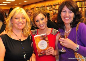 Co author of What Women Know Juliet Bressan with Sinead Desmond who launched our book in Dubray Books