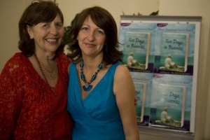 Michelle and her mum Pauline at the book launch of my debut novel