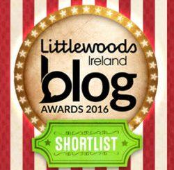 Shortlisted Finalist at the Littlewoods Ireland Blog Awards