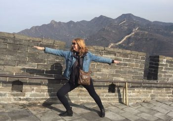 Climbing the Great Wall and Some Poetry